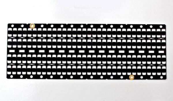 long metal sheet coated with litho black coating