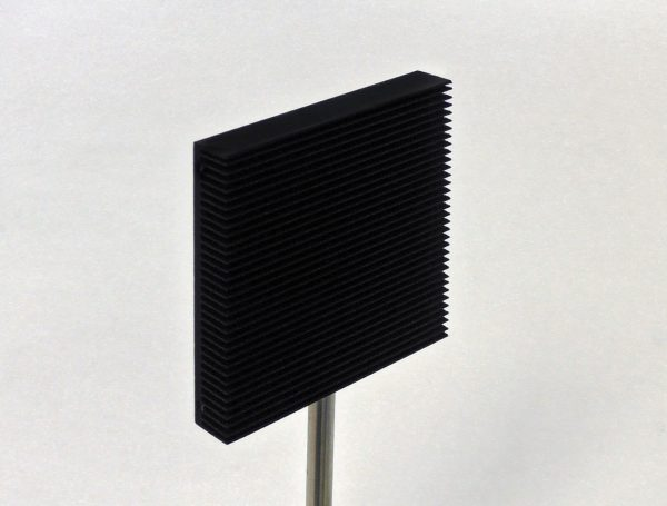 black coated Flat Beam Dump for 80mm Laser