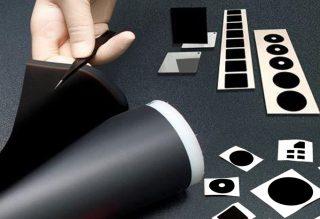 maxiblack: a roll of black coating foil