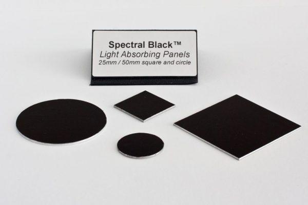 Spectral Black Light Absorbing Panel Circle
