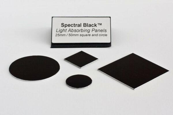 Spectral Black Light Absorbing Panel Circle