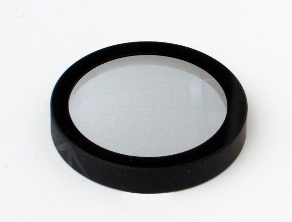 Vacuum black coated component