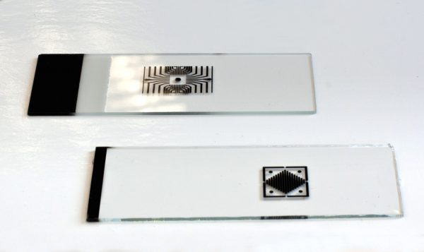Accurate Litho Black coating on glass slides