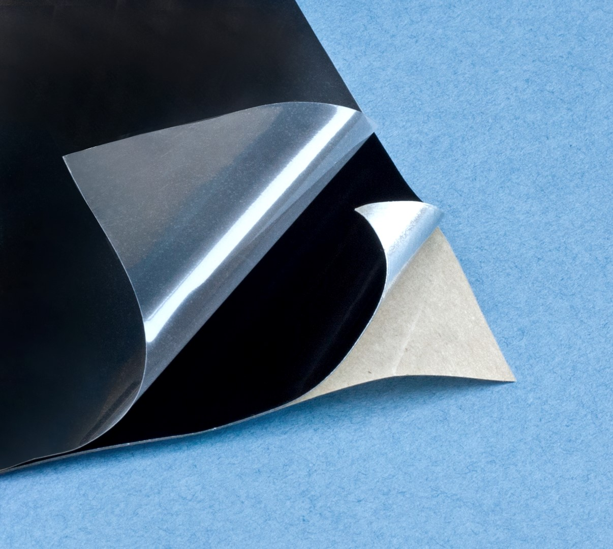 Adhesive spectral Black coating foil