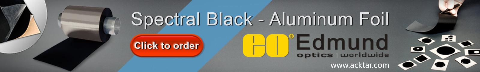 spectral black banner