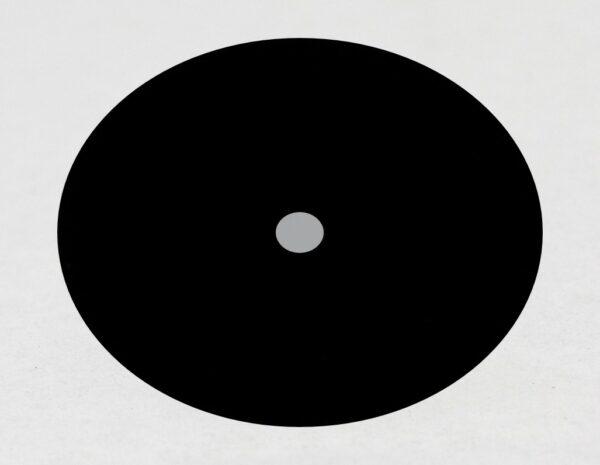 Blackened Precision Pinhole