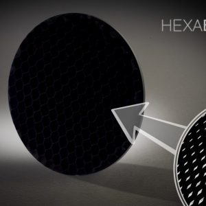 Hexa Black Light Absorbing Panel Circle