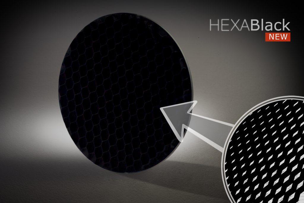 Hexa Black Light Absorbing Panel Circle